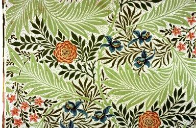 Larkspur Wallpaper Series: Light Green