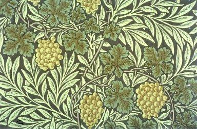 Vine Wallpaper Series: Dark Brown