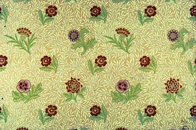 Powdered Wallpaper Series: Yellow