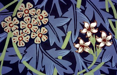 Jasmine Wallpaper Series: Dark Green