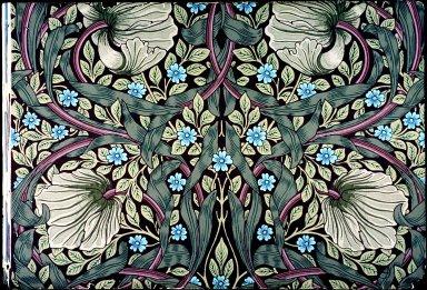 Pimpernel Wallpaper Series: Light Brown