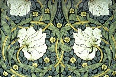 Pimpernel Wallpaper Series: Dark Green