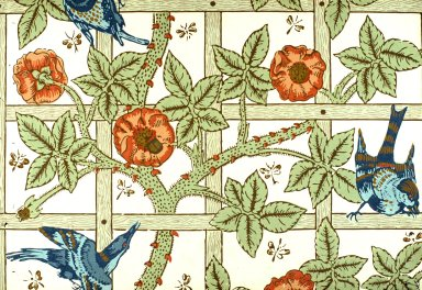 Trellis Wallpaper Series: Light Green