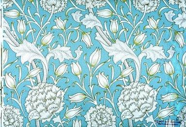 Wild Tulip Wallpaper Series: Light Blue