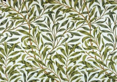 Willow Boughs Wallpaper Series: Cream