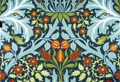 Autumn Flowers Wallpaper Series: Blue