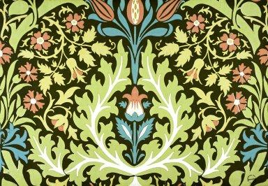 Autumn Flowers Wallpaper Series: Green