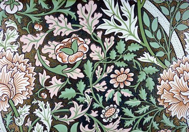 Norwich Wallpaper Series: Gilt and Green