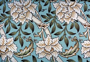 Hammersmith Wallpaper Series: Blue