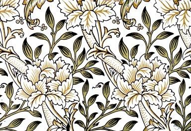 Hammersmith Wallpaper Series: White