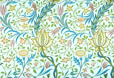 Flora Wallpaper Series: White