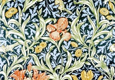 Lechlade Wallpaper Series: Blue