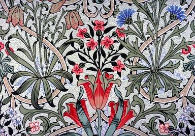 Woodland Weeds Wallpaper Series: White