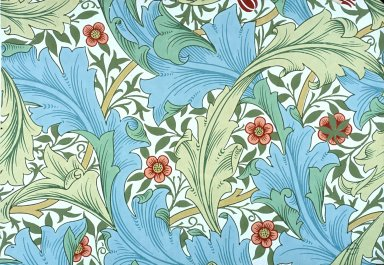 Granville Wallpaper Series: White