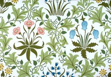 Celandine Wallpaper Series: White