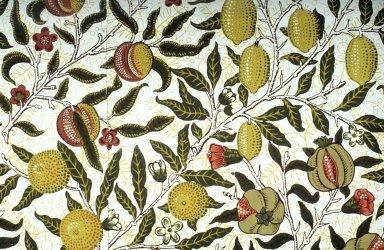 Fruit Wallpaper Series: Cream