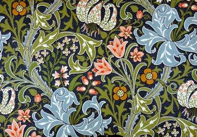 Golden Lily Wallpaper Series: Blue