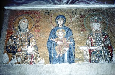 Hagia Sophia: Virgin and Child Flanked by Emperor John II Comnenus and Empress Irene