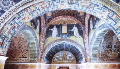 Mausoleum of Galla Placidia: Apostles with Good Shepherd