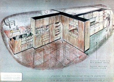 Seco: Prefabricated Interior Scheme