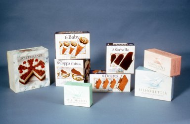 Packaging for Feminine Hygiene Products and Ice Cream Bars
