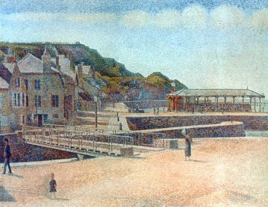 Bridge and Quays, Port-en-Bessin