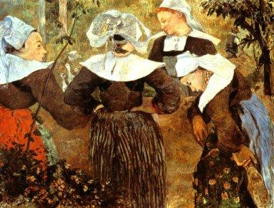 Four Breton Women