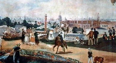 Vue de l'Exposition Universelle de Paris 1867