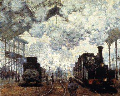 Saint-Lazare Station 4