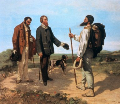 Meeting or Good Day, Monsieur Courbet