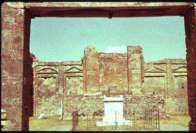 Forum at Pompeii: Macellum