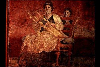 Roman Woman with Kithara