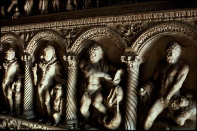 Sarcophagus Relief: Labors of Hercules