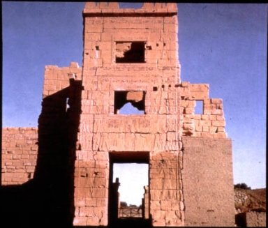 Mortuary Temple of Ramesses III: High Gate