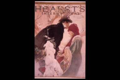 Cover for December 1921 Hearst's International