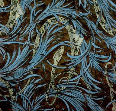 Wallpaper Design: Watersnake
