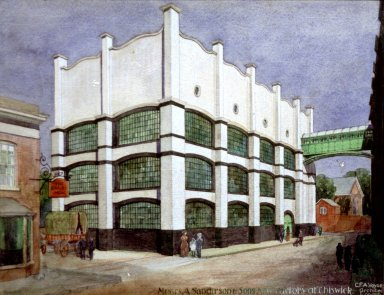 Sanderson and Sons Factory