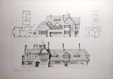 Design for a House and Octagonal Hall