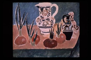 Still Life with Pink Onions