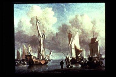 Boats on Calm Sea