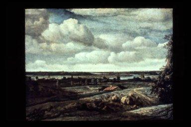 Landscape: River Waal at Beck