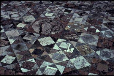 Opus Sectile Floor Mosaic