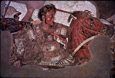 Alexander Mosaic: Battle of Issus
