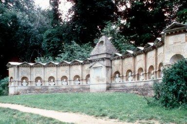 Stowe: Temple of British Worthies