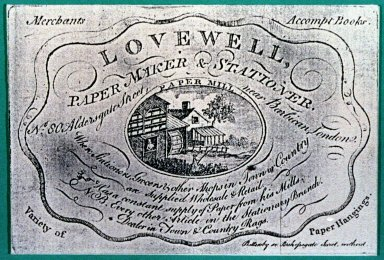 Trade Card for Thomas Lovewell