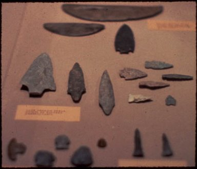 Spear-points and Scrapers