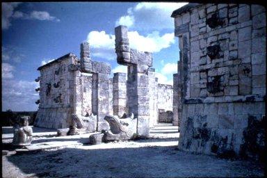 Chichen Itza: Temple of the Warriors