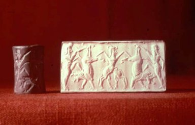 Cylinder Seal from Sumer and Its Impression