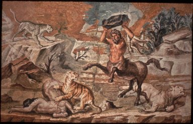 Hadrian's Villa (Villa Hadriana): Battle of Centaurs and Wild Beasts