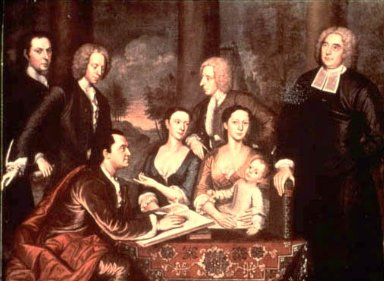 Dean George Berkeley and His Family (The Bermuda Group)